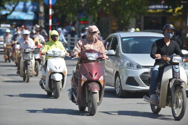 暑さより日に焼けるほうが嫌なベトナム女性